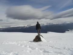 Camino a la cumbre Cerro Piltriquitrón